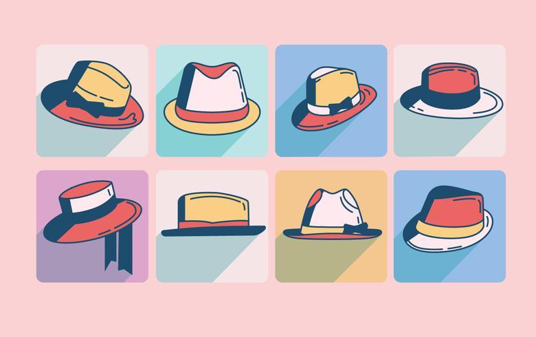 vettore del cappello di panama