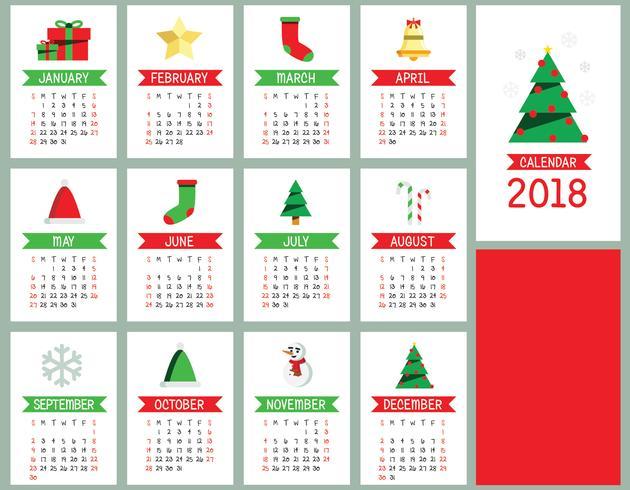 Calendario vettore