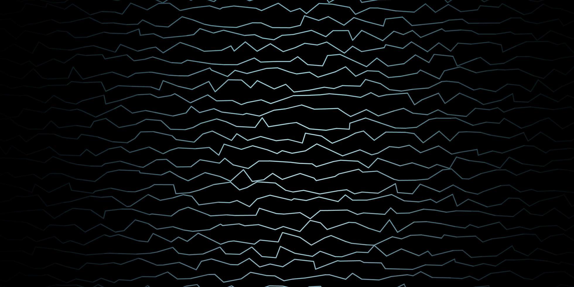 modello blu scuro con linee. vettore