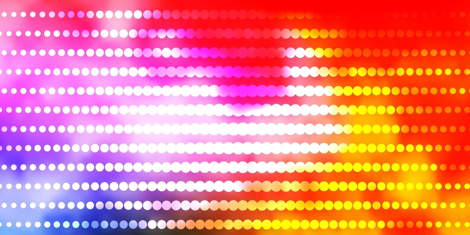 modello multicolore con cerchi. vettore