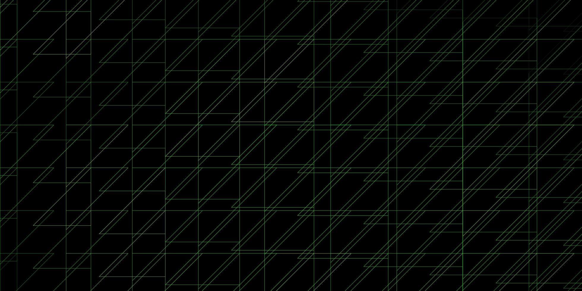modello verde con linee. vettore
