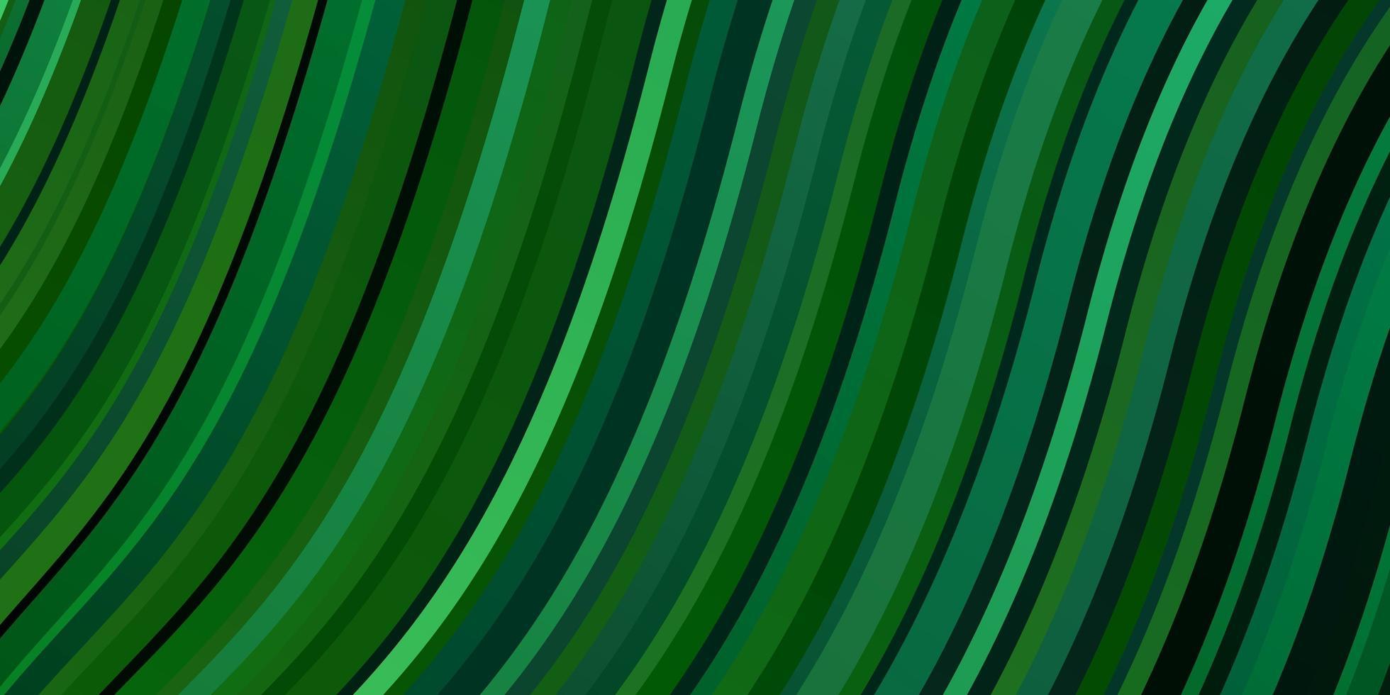 tessitura verde chiaro con curve. vettore