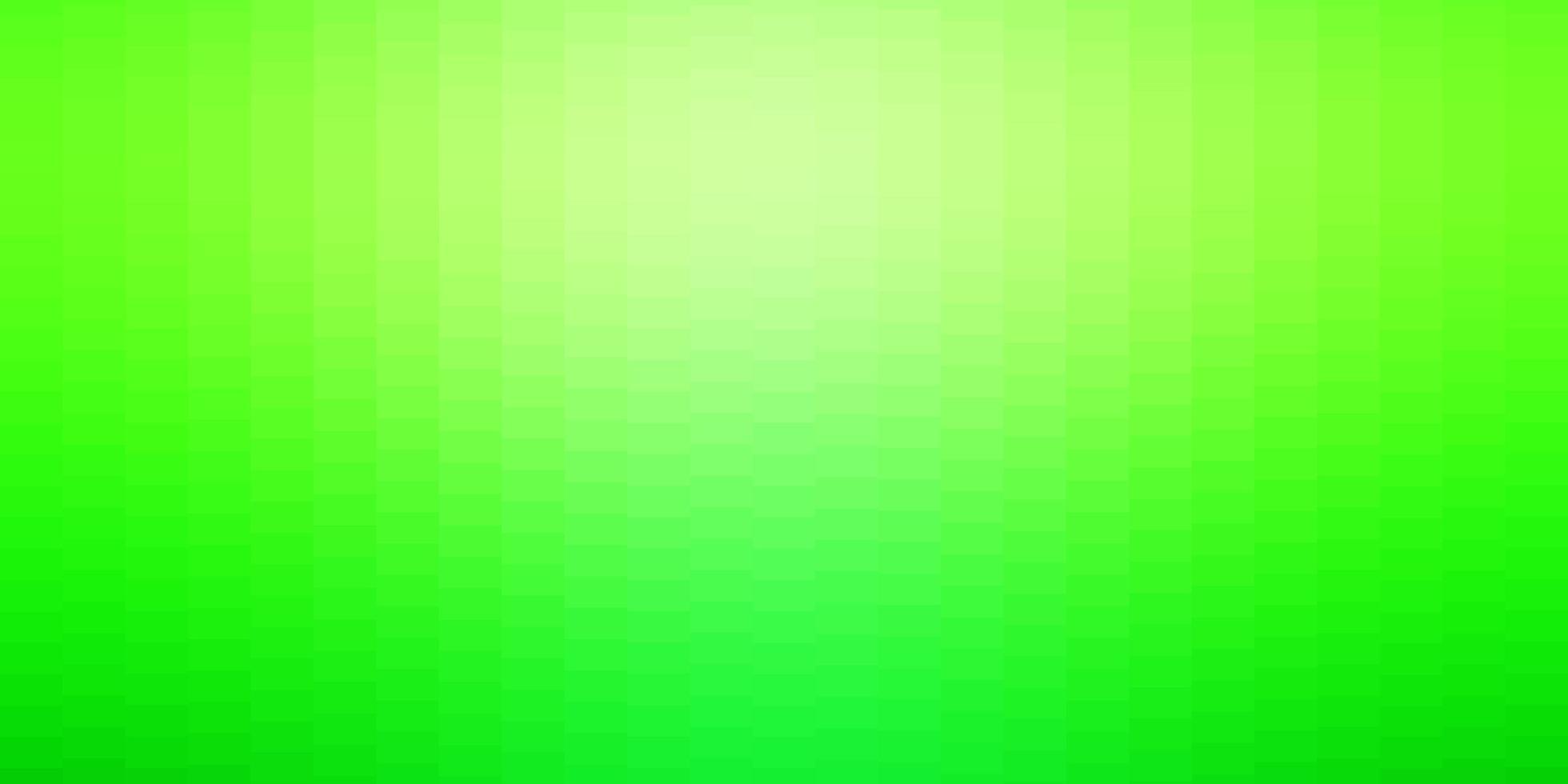 sfondo verde chiaro in stile poligonale. vettore