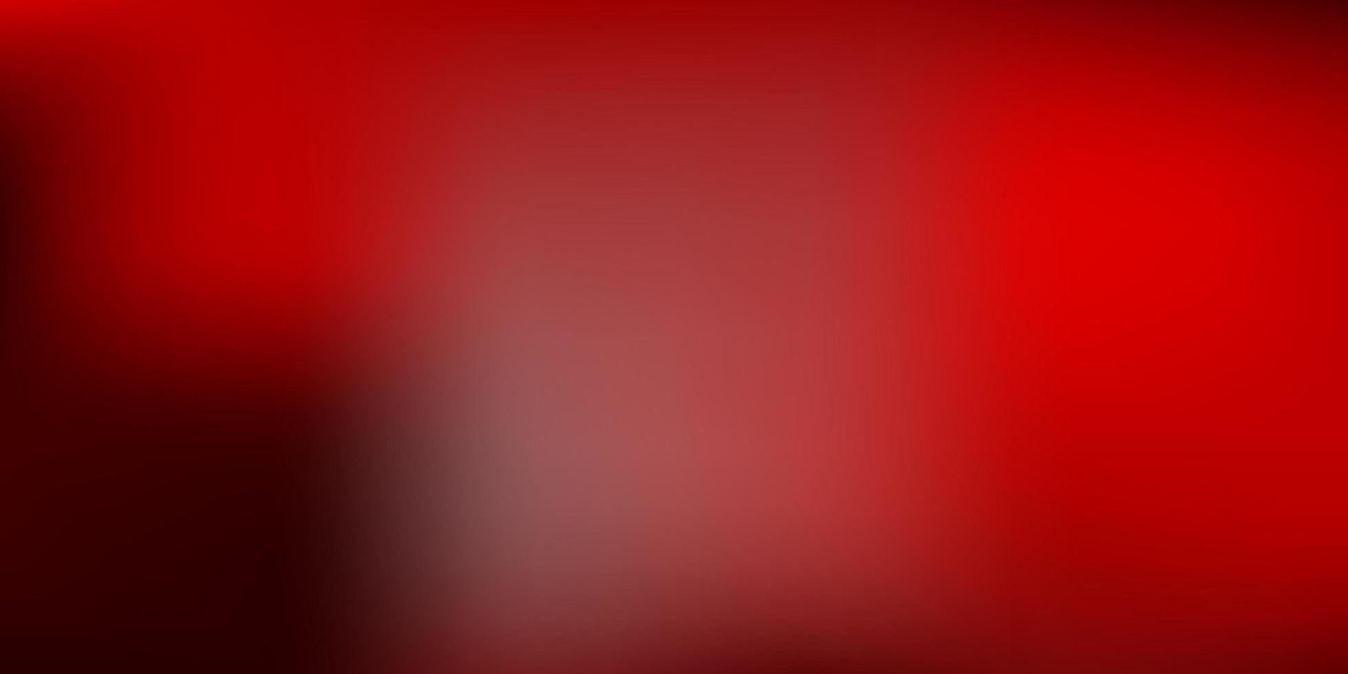 modello di sfocatura sfumata rosso scuro. vettore