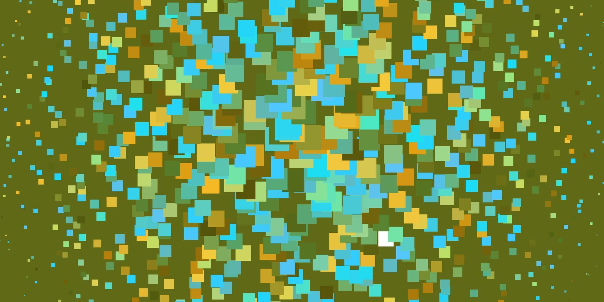 azzurro, layout giallo con linee, rettangoli. vettore