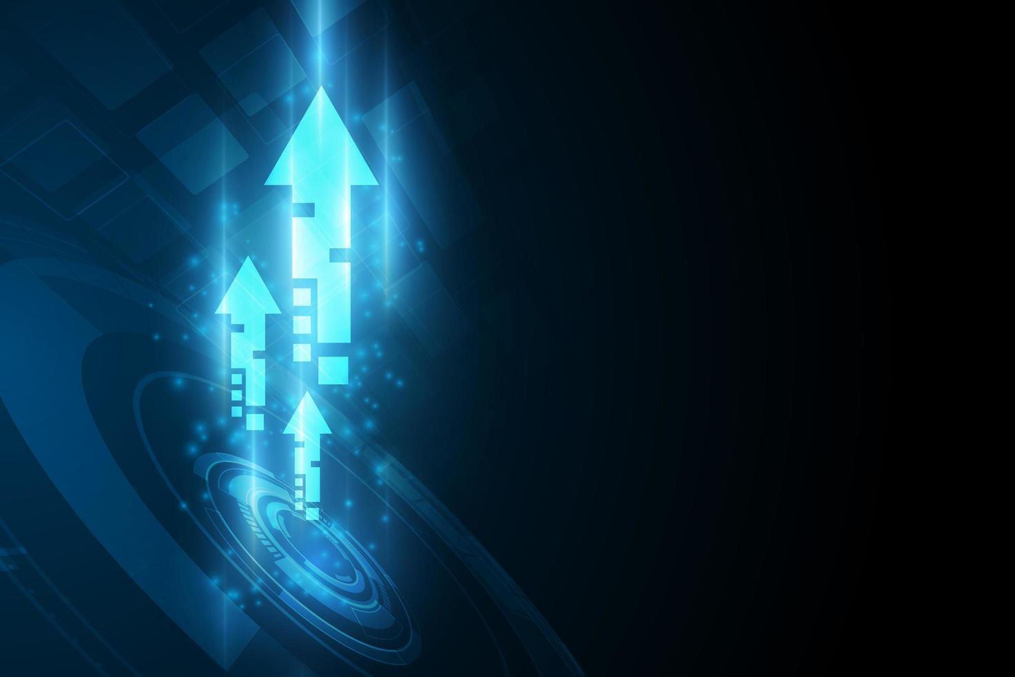 tecnologia di velocità digitale futura astratta vettore