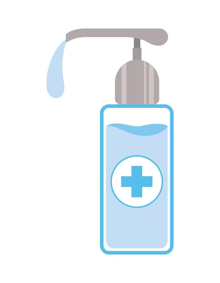 design del distributore di sapone isolato vettore