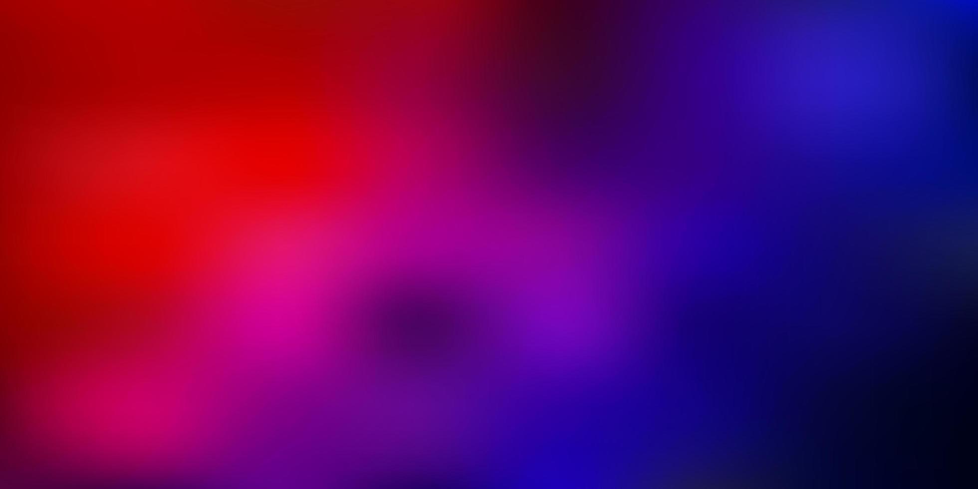 sfondo sfocato vettoriale azzurro, rosso