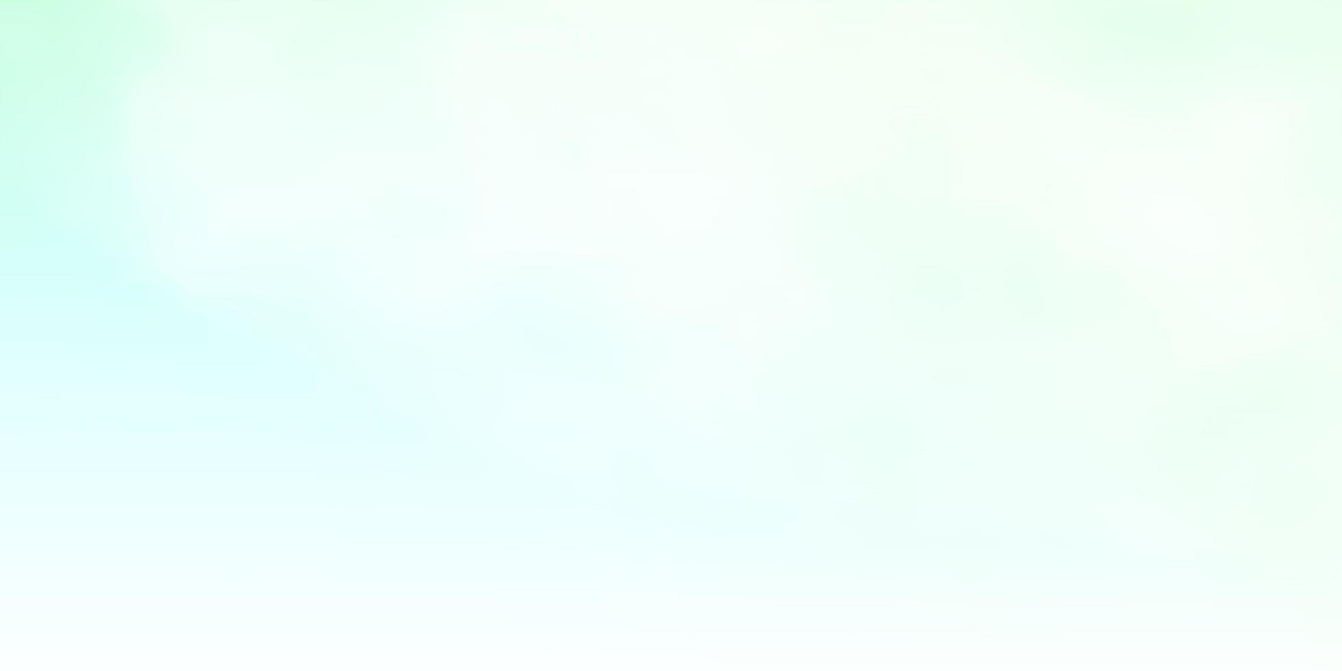 sfondo vettoriale verde chiaro con nuvole.