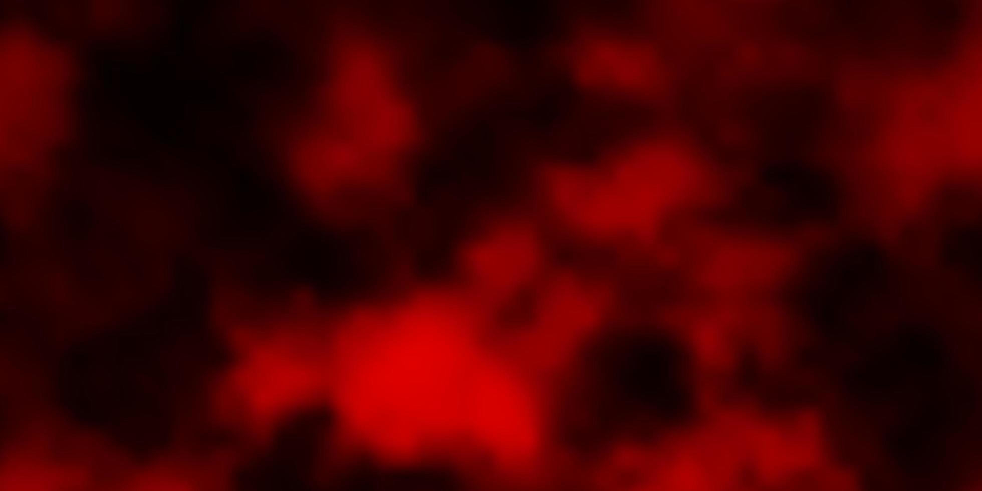 struttura di vettore rosso scuro con cielo nuvoloso.