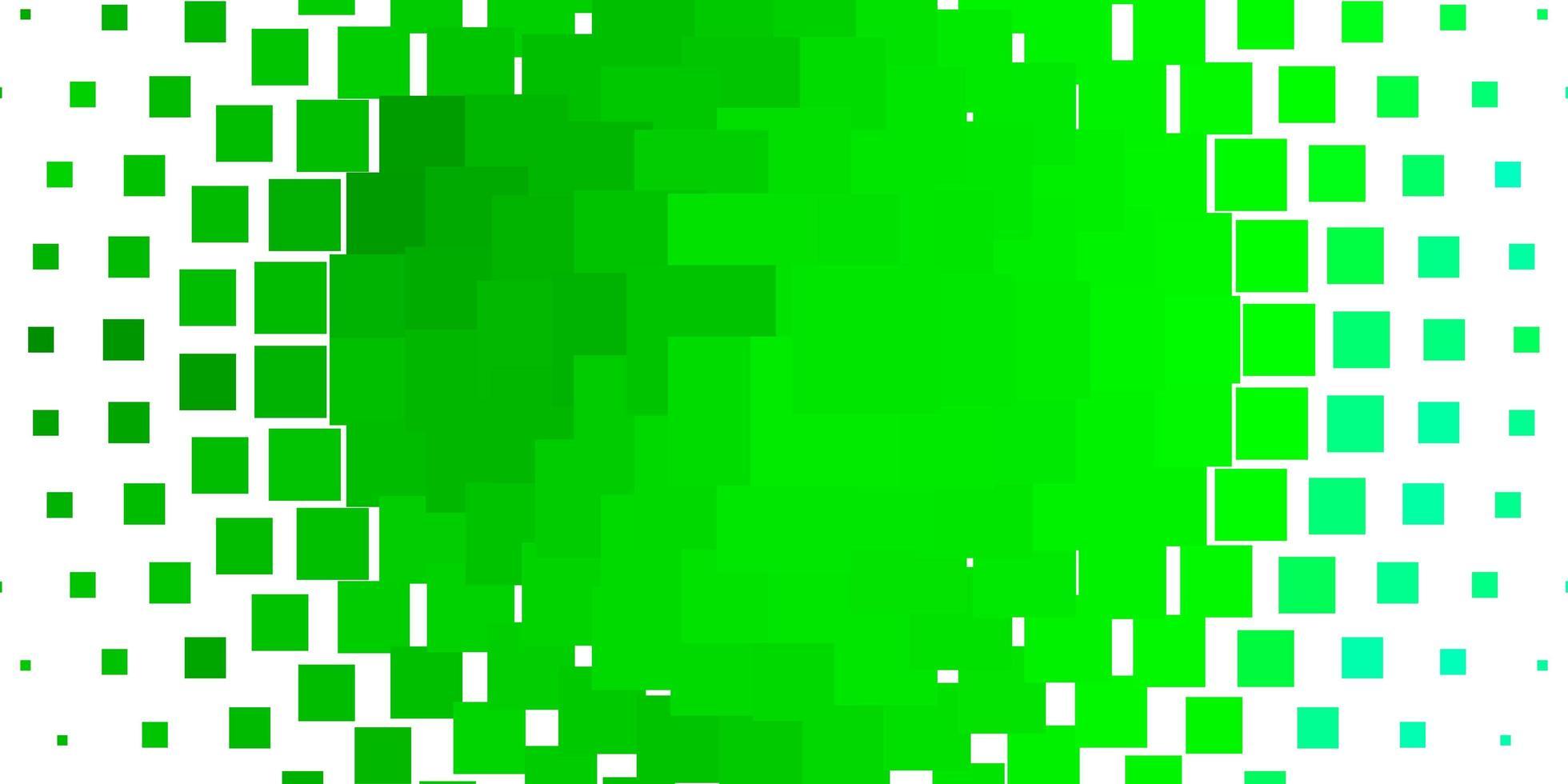 modello vettoriale verde chiaro in rettangoli.