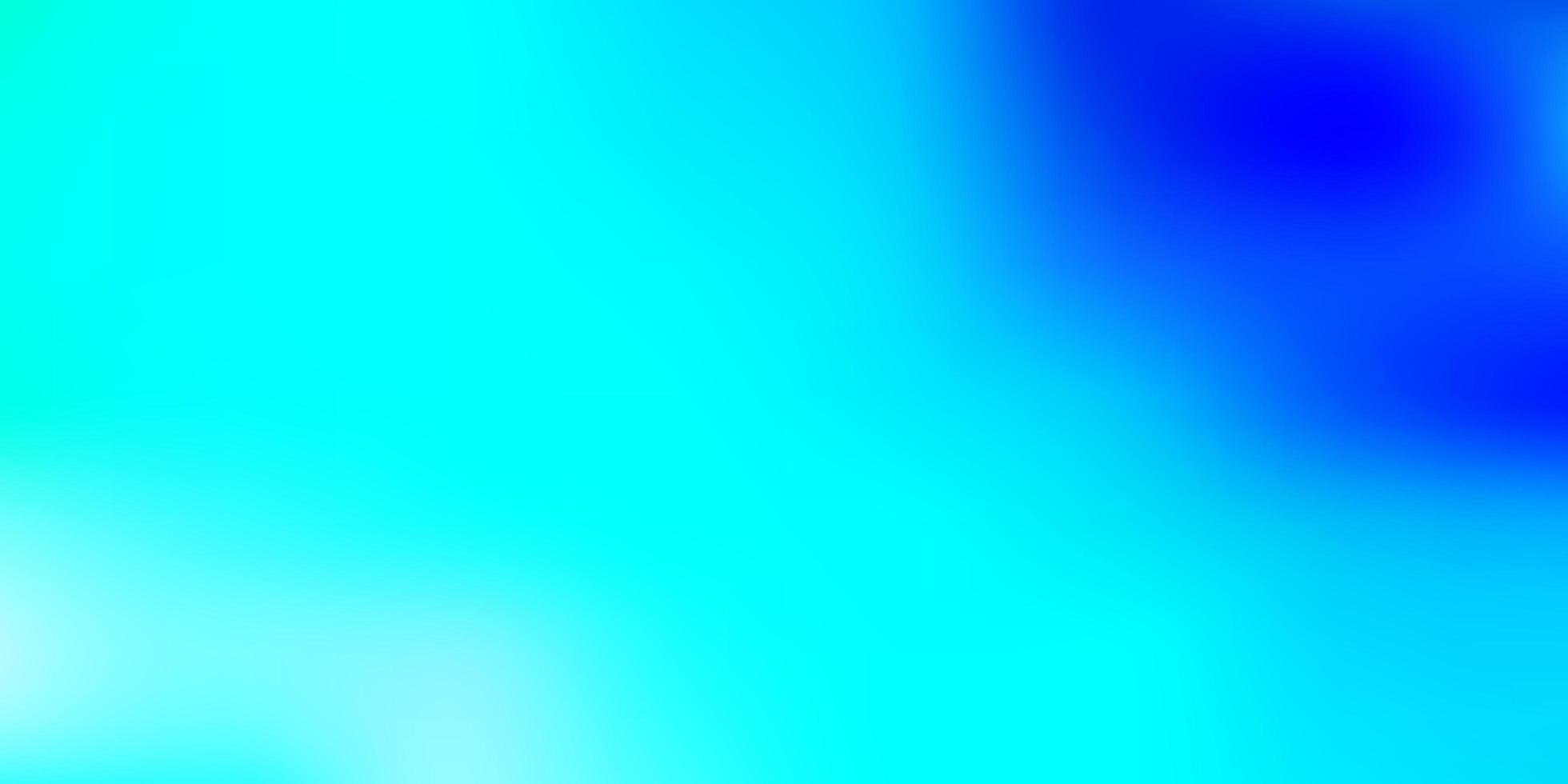 sfondo sfocato vettoriale azzurro, verde.