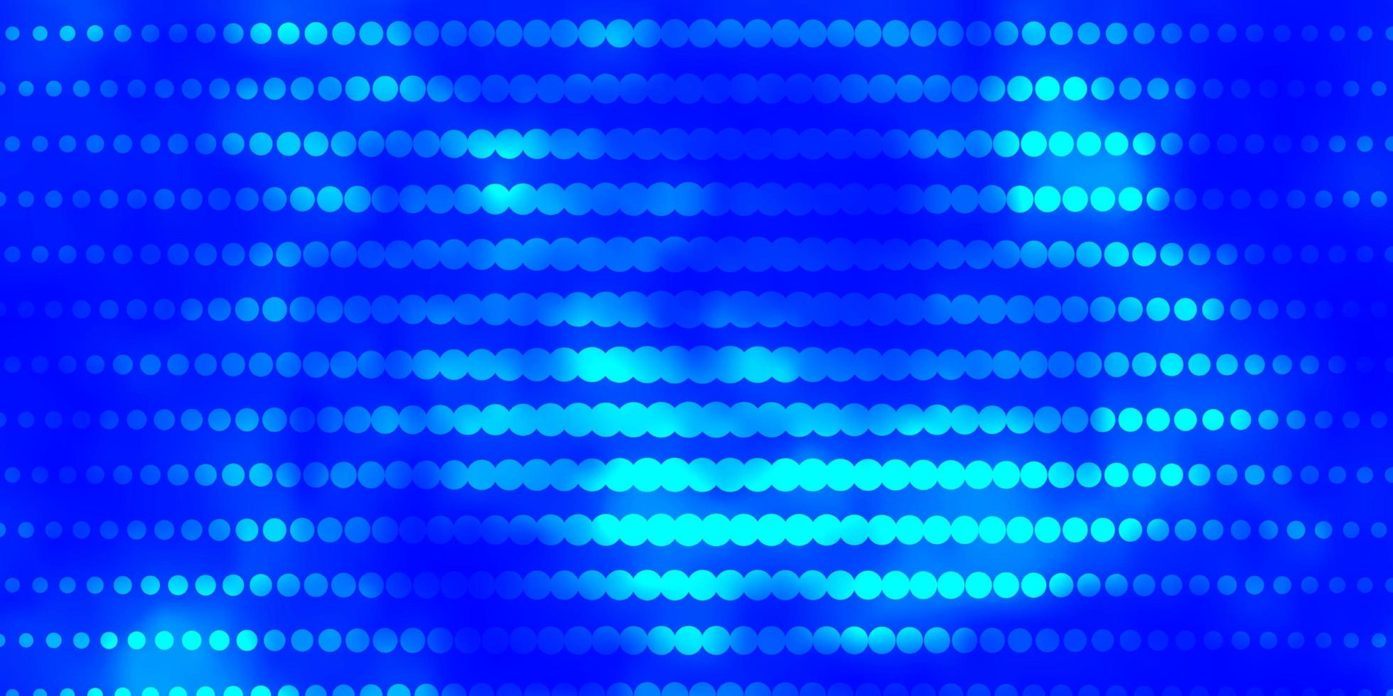sfondo vettoriale azzurro con cerchi.