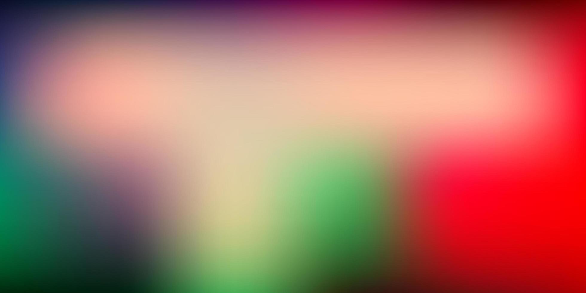 sfondo sfocato vettoriale verde chiaro, rosso.