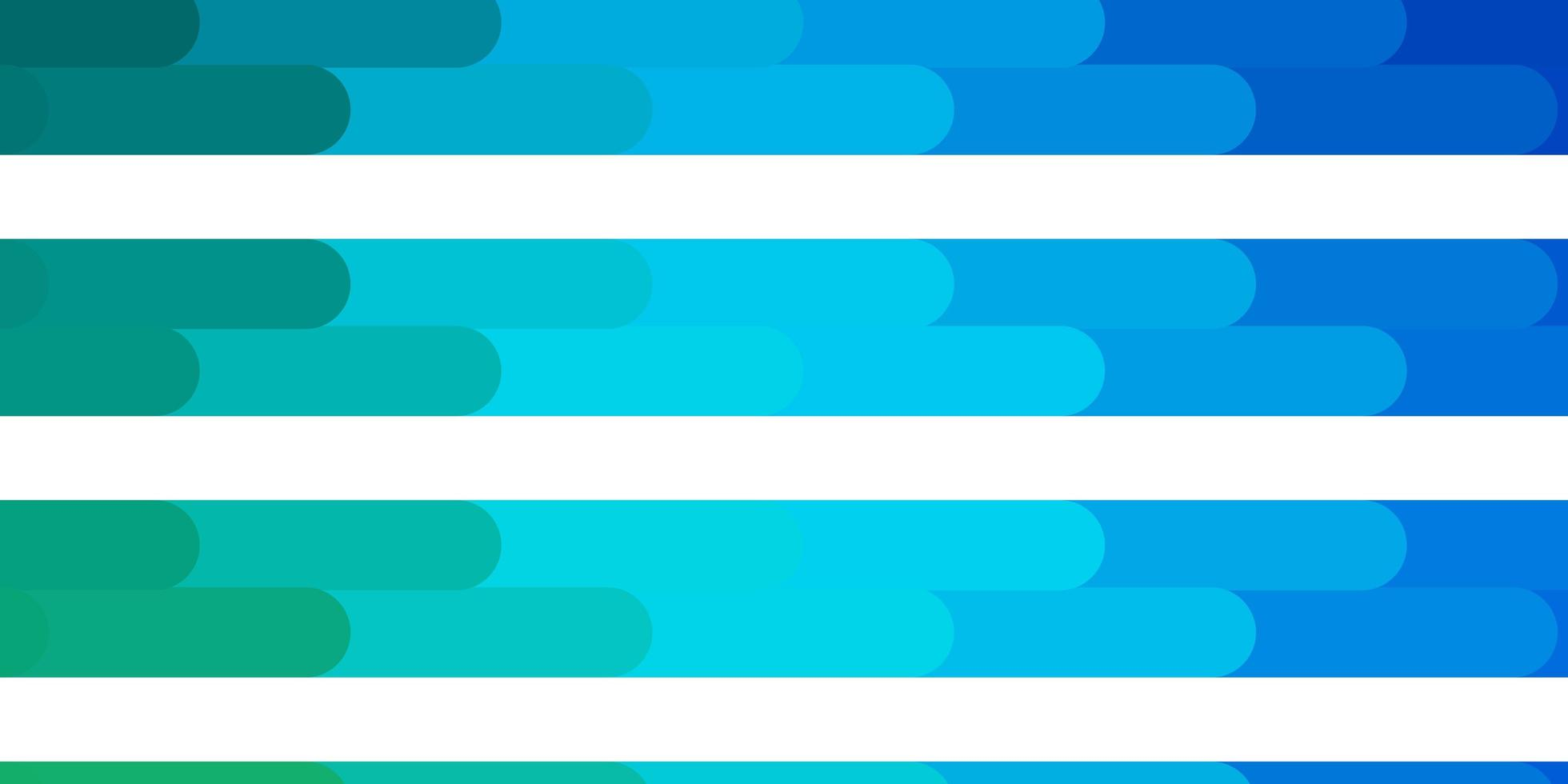layout vettoriale azzurro, verde con linee.