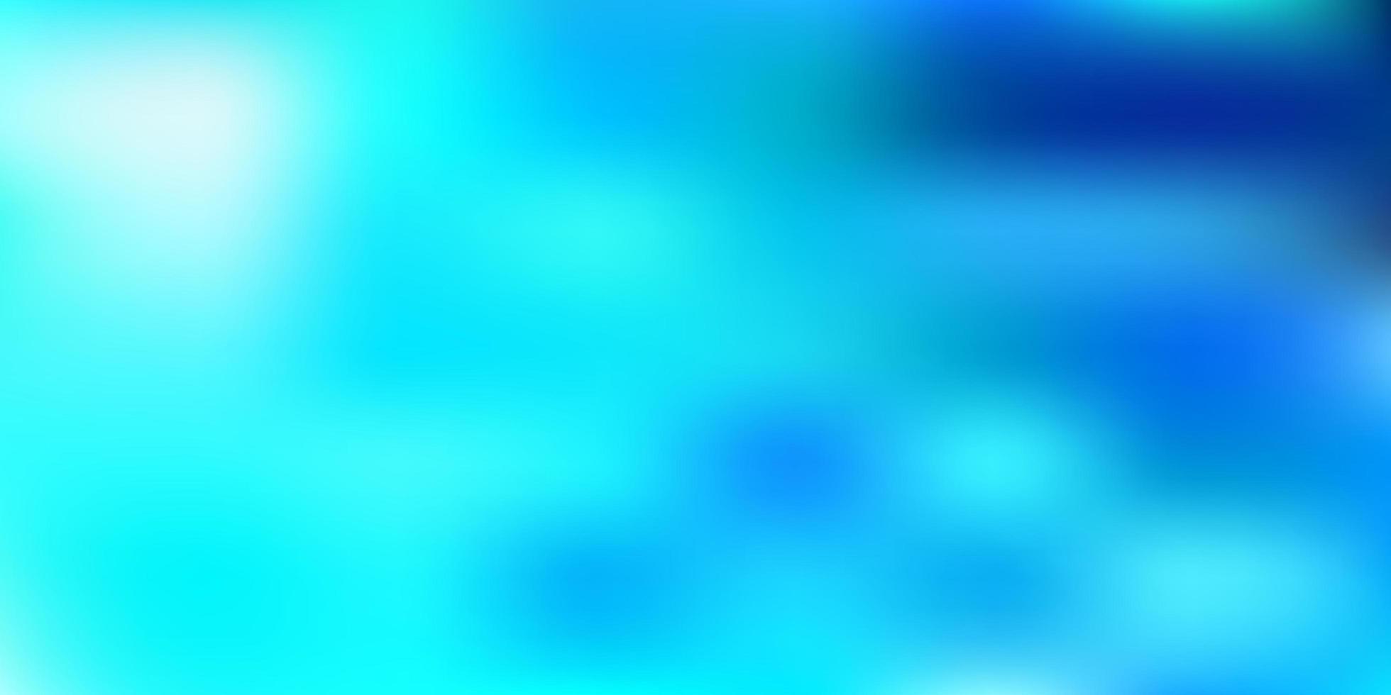 modello di sfocatura vettoriale blu chiaro
