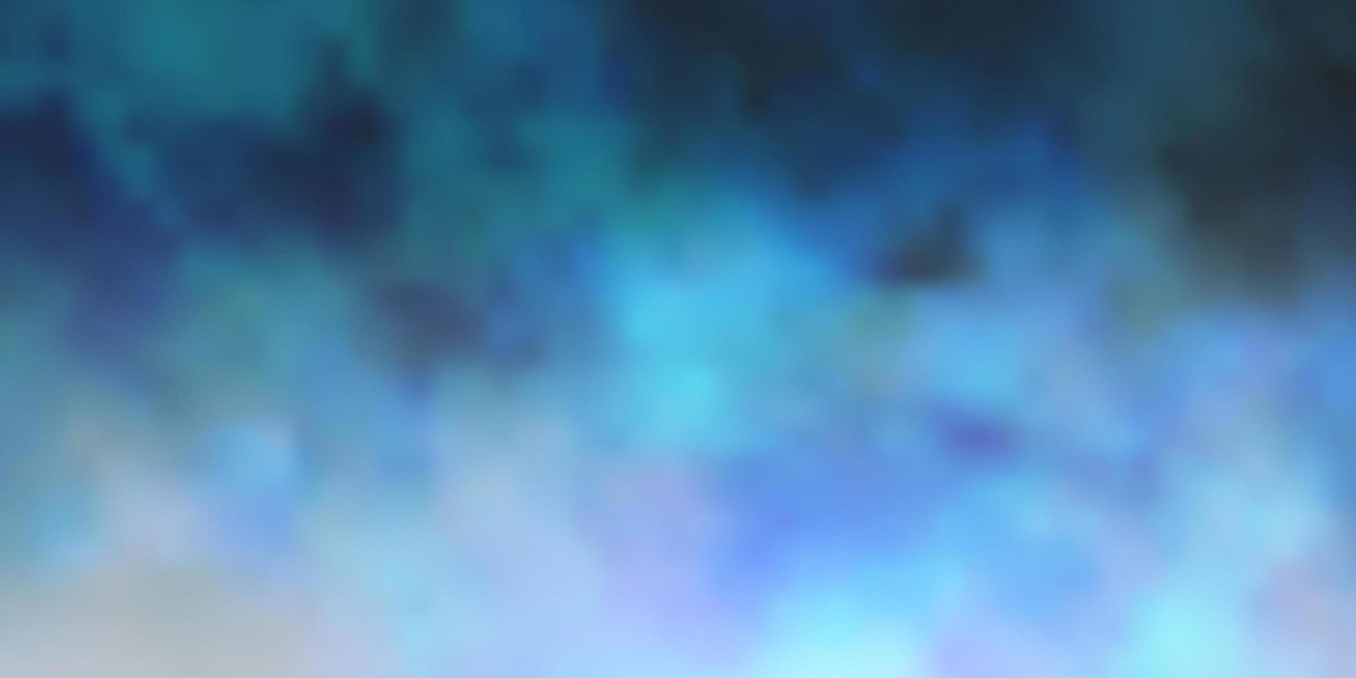 sfondo vettoriale blu scuro con cumulo.