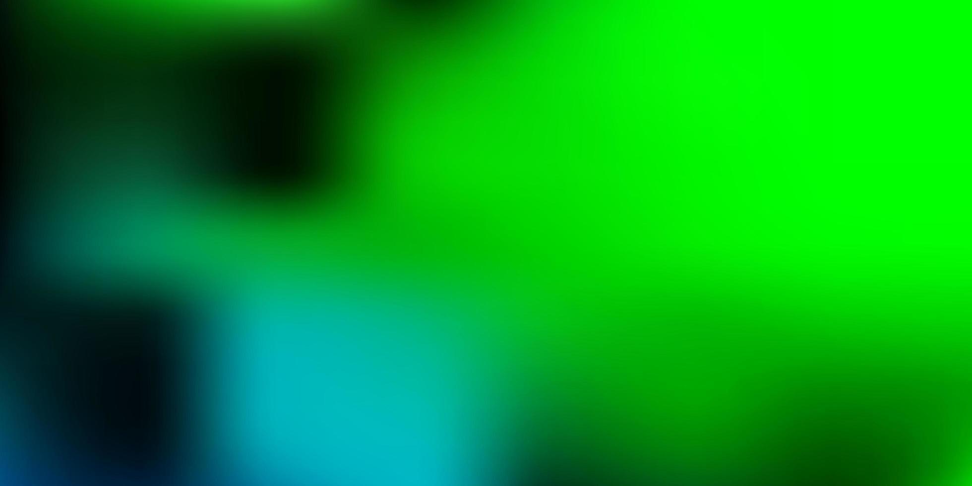 layout sfocato vettoriale blu chiaro, verde.