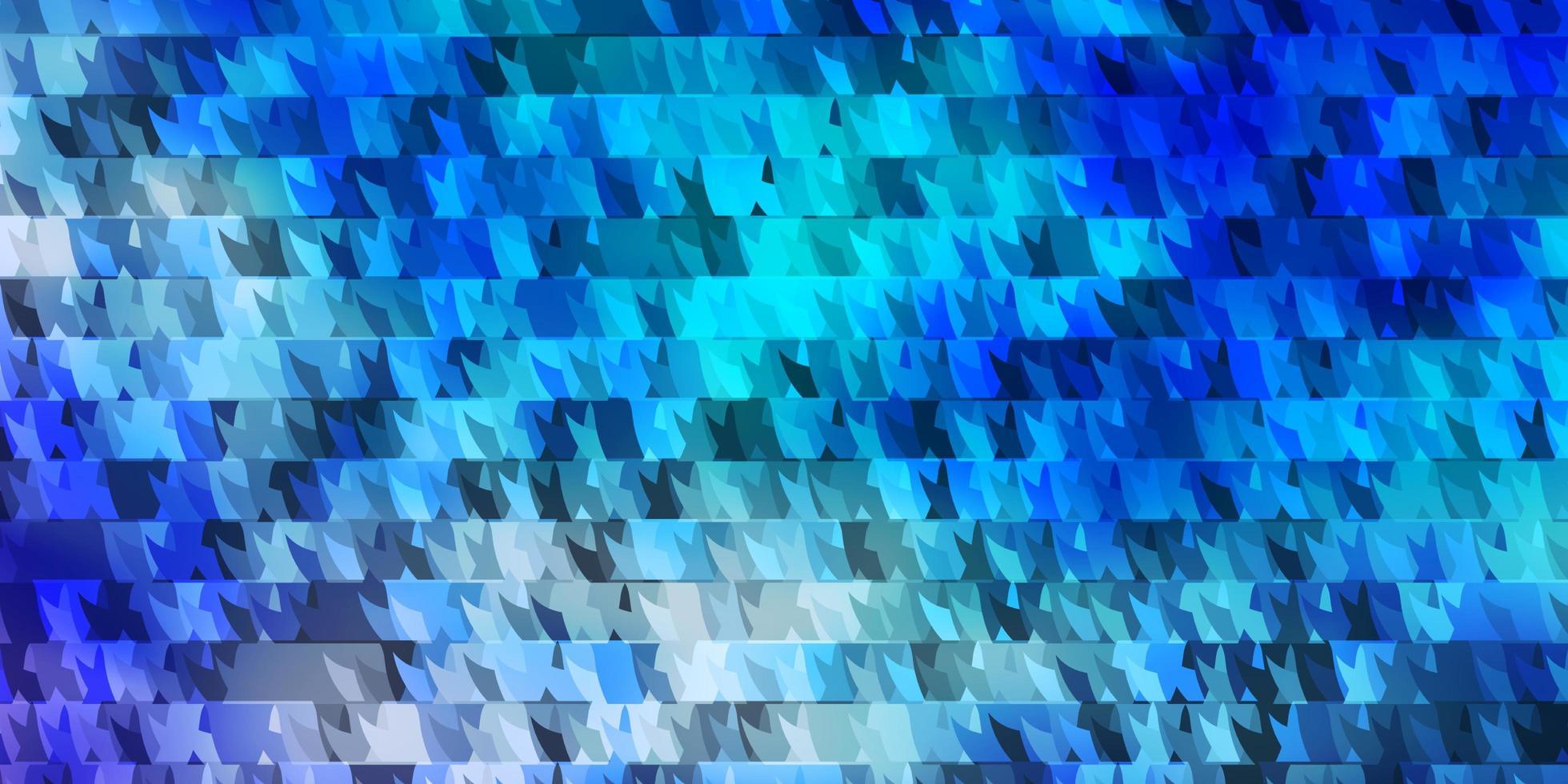 modello vettoriale azzurro, verde con linee, triangoli.