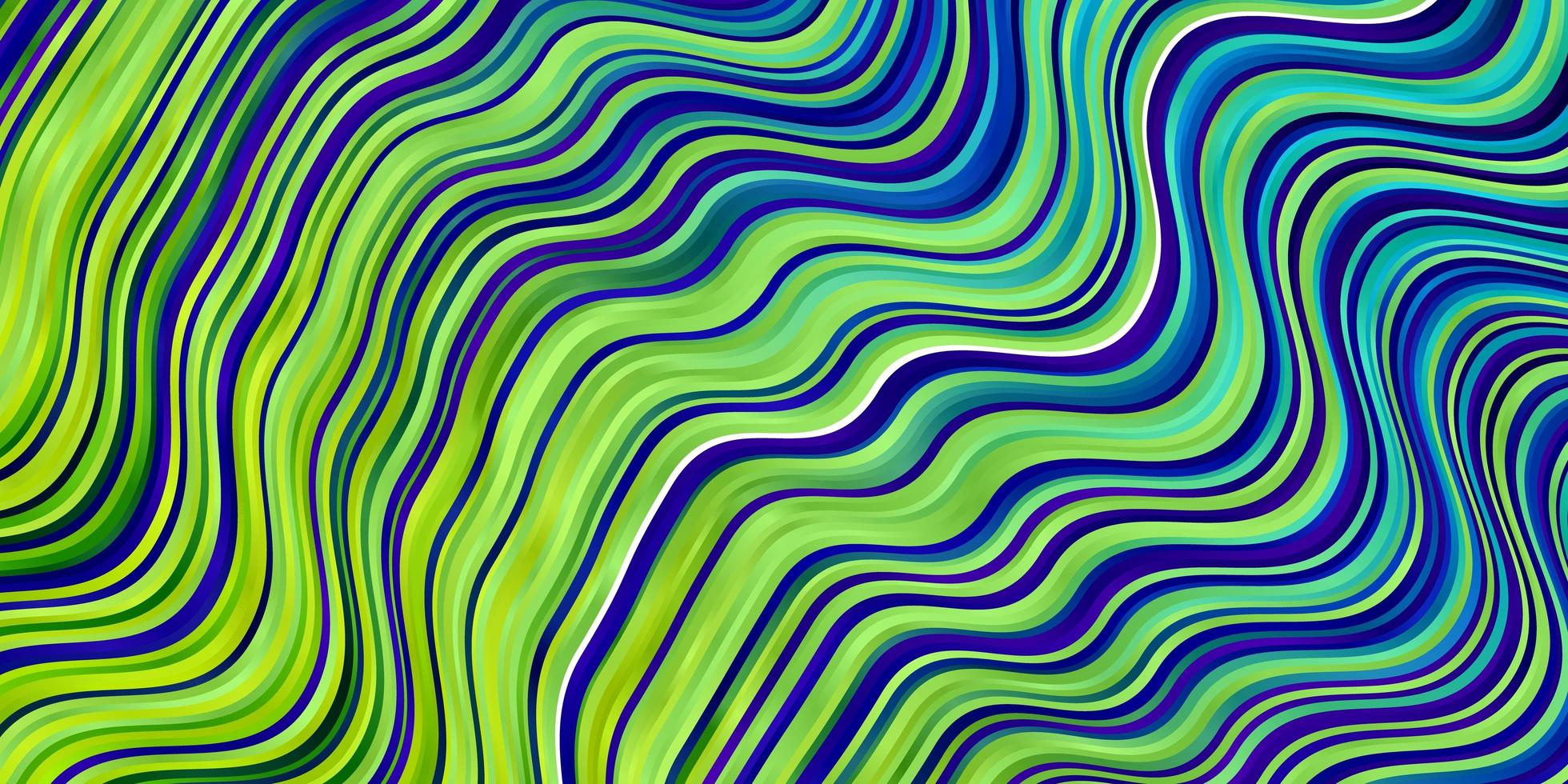 modello vettoriale multicolore chiaro con linee ironiche.