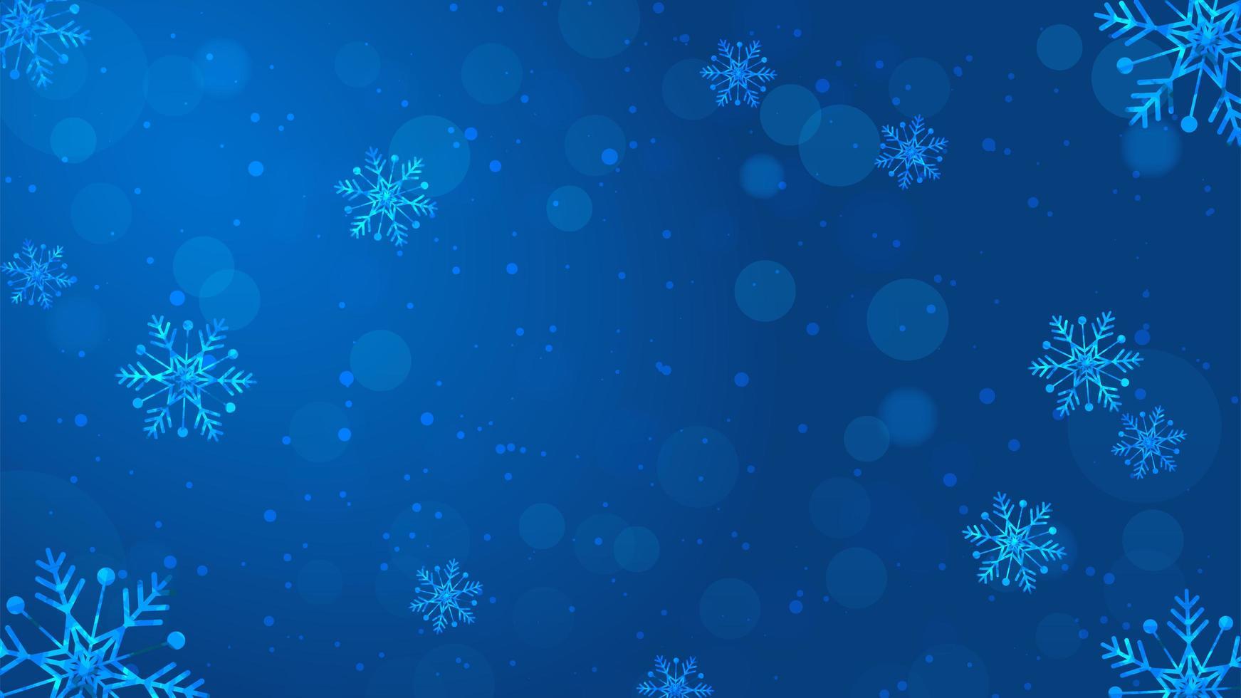 sfondo di natale neve vettore
