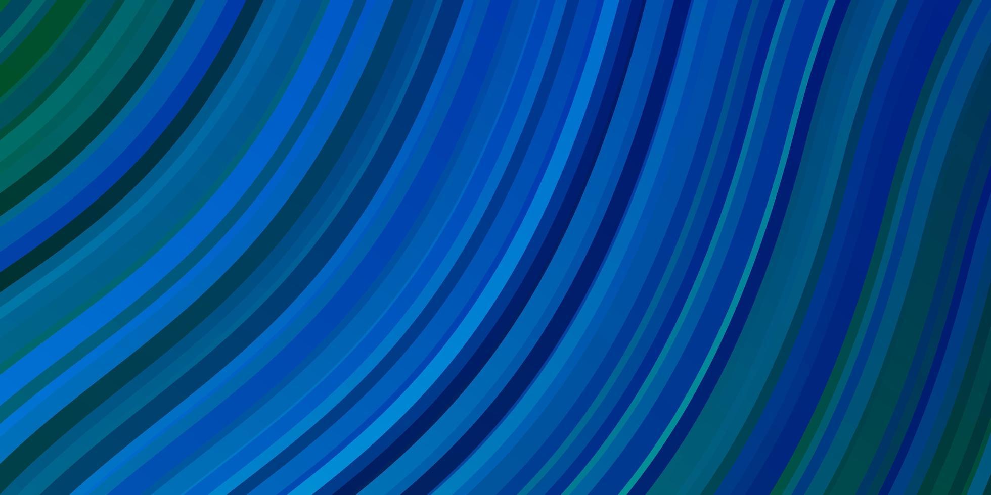 struttura di vettore blu chiaro, verde con curve.