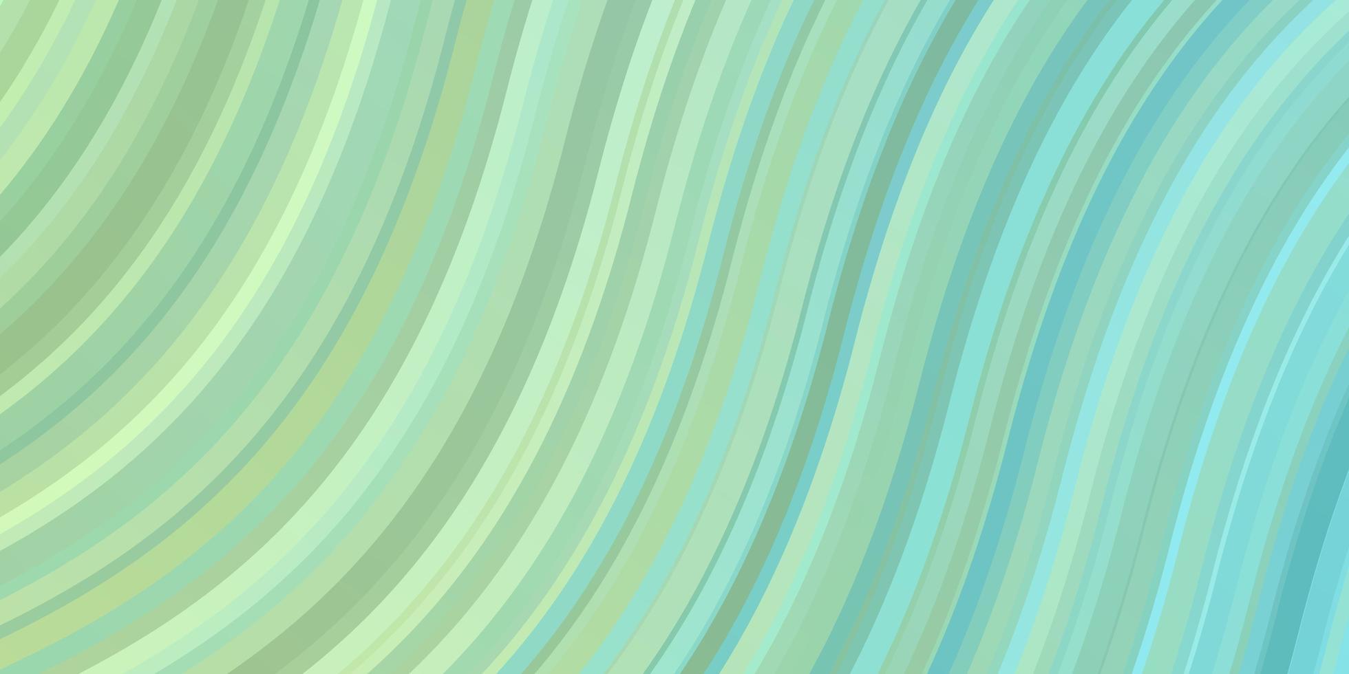 modello vettoriale azzurro, verde con linee.