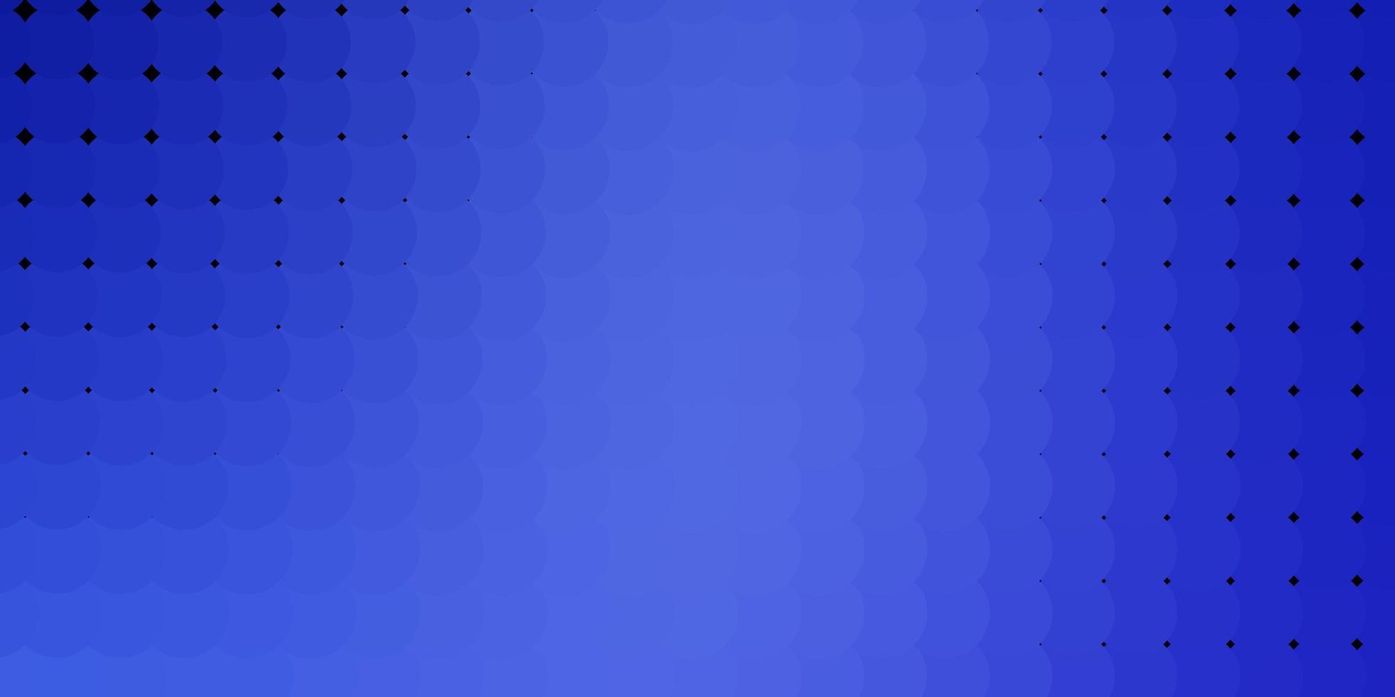 sfondo vettoriale azzurro con bolle.