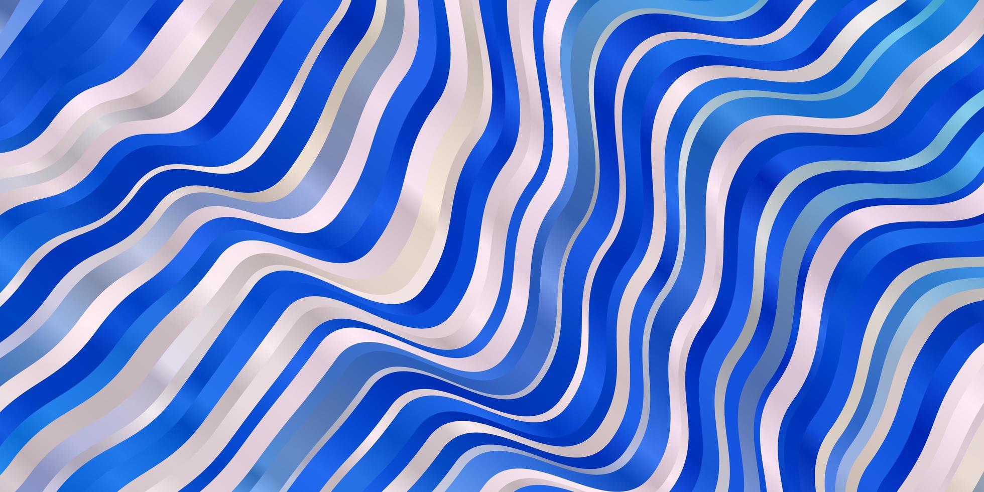 sfondo vettoriale rosa chiaro, blu con linee.