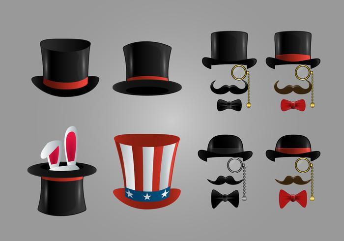 Icona del cappello vettore