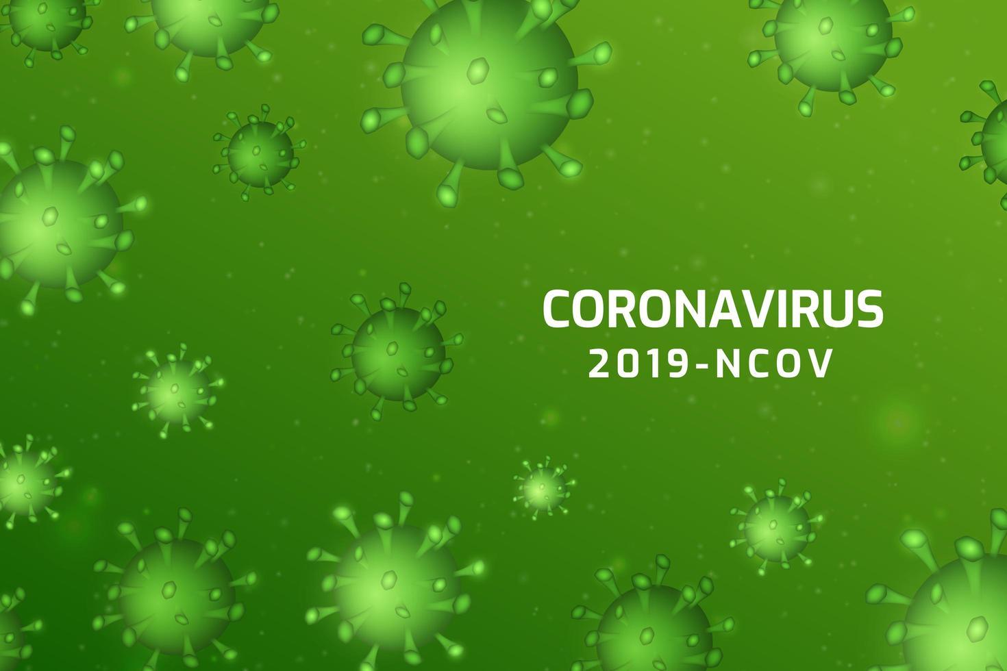 infezione da virus o sfondo di cellule batteriche. vettore