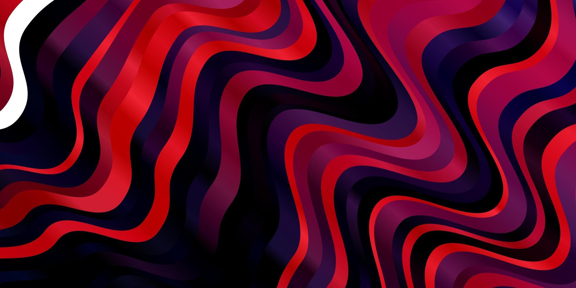 modello vettoriale rosa scuro, blu con linee ironiche.