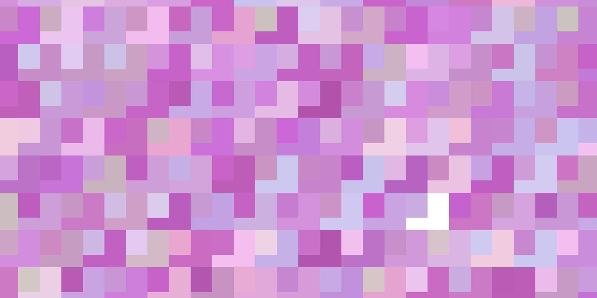 sfondo vettoriale viola chiaro, rosa con rettangoli.