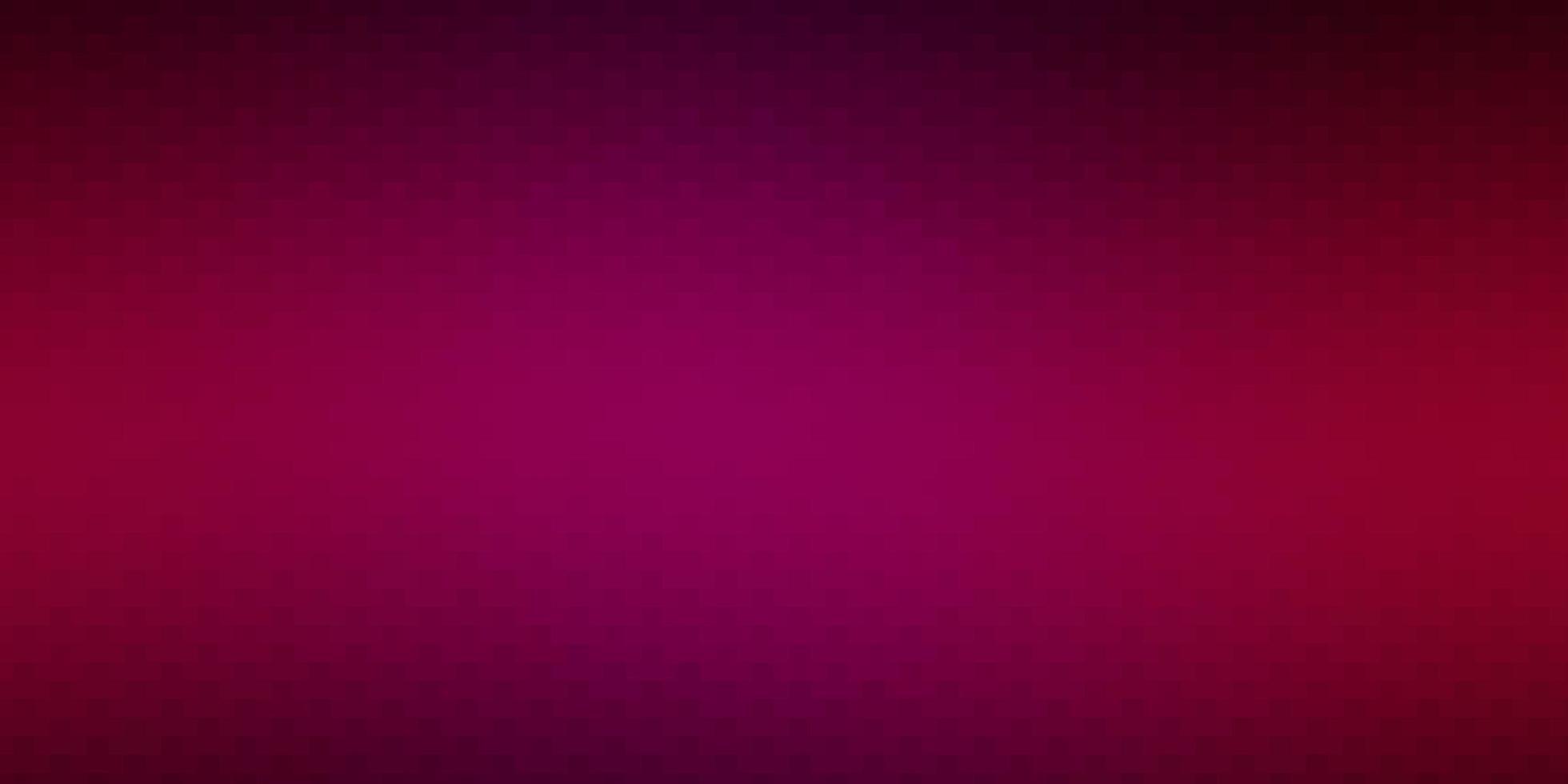 sfondo vettoriale rosa scuro con rettangoli.