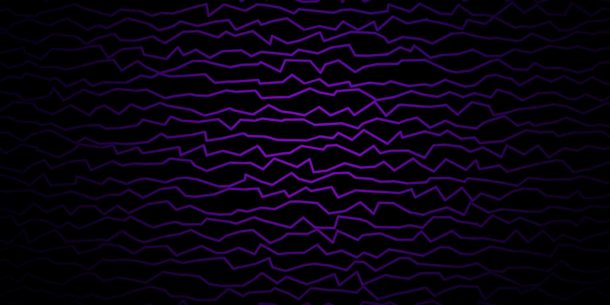layout vettoriale viola scuro, rosa con curve.