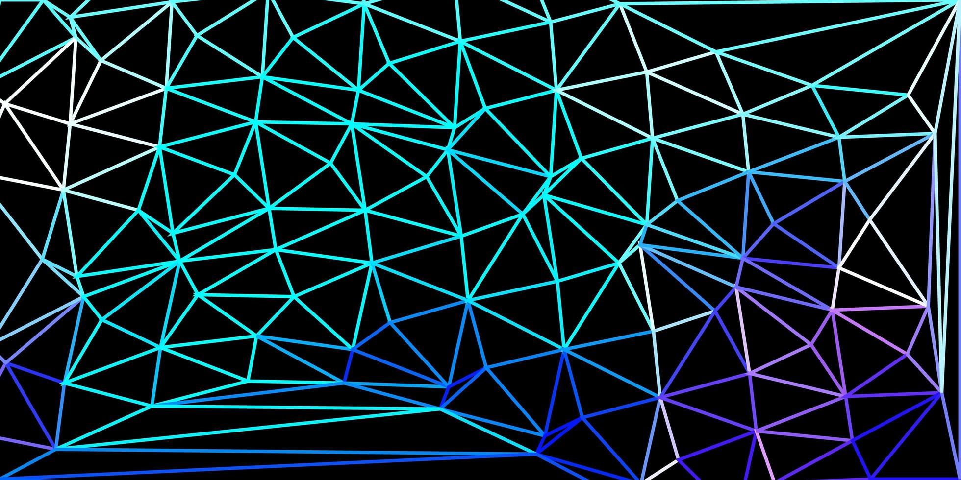 carta da parati del mosaico del triangolo di vettore rosa chiaro, blu.