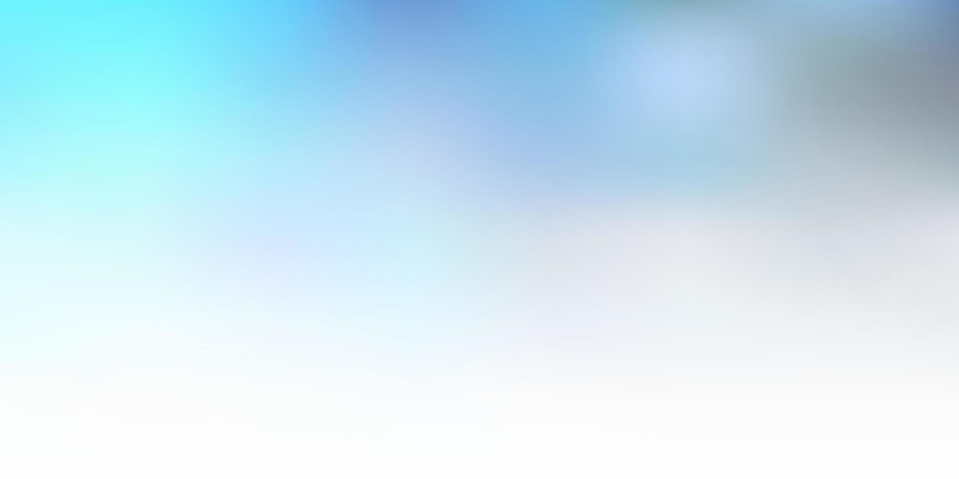 modello di sfocatura vettoriale blu chiaro.