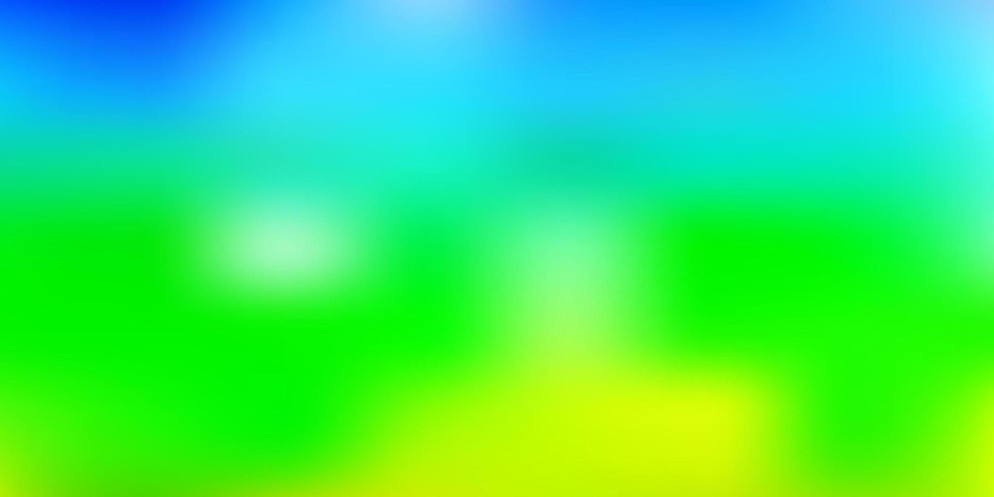 modello di sfocatura vettoriale multicolore chiaro.