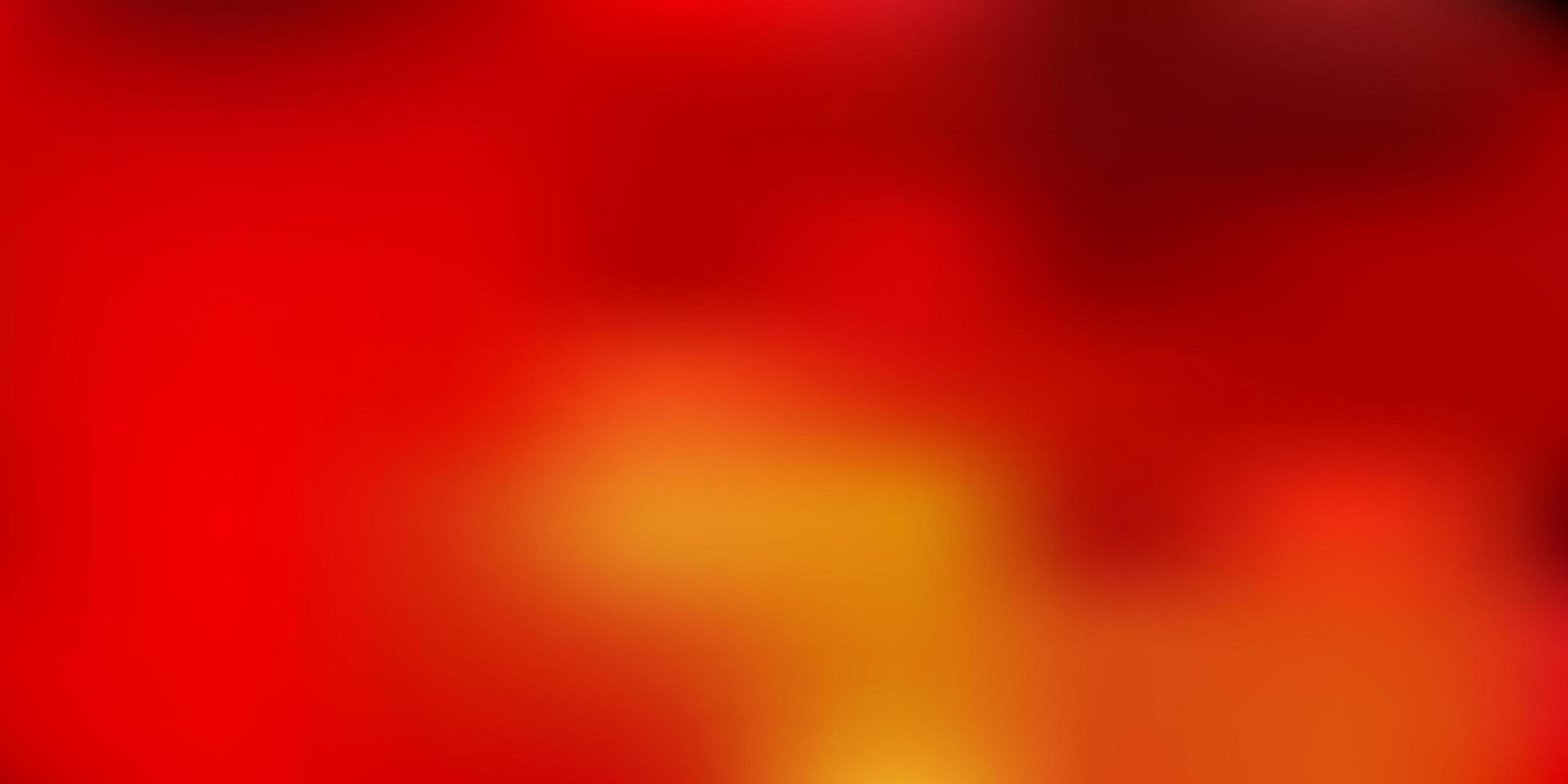 modello di sfocatura sfumata vettoriale arancione scuro.