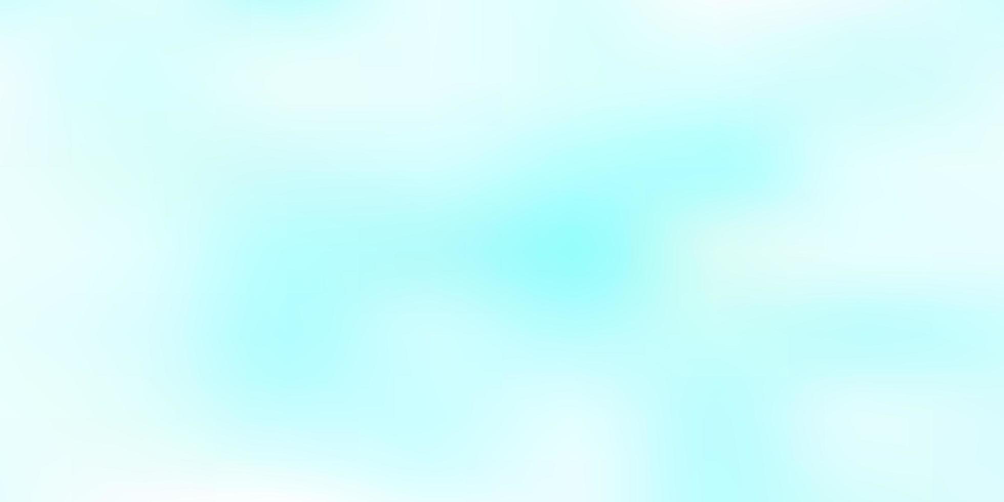 layout sfocato vettoriale blu chiaro.