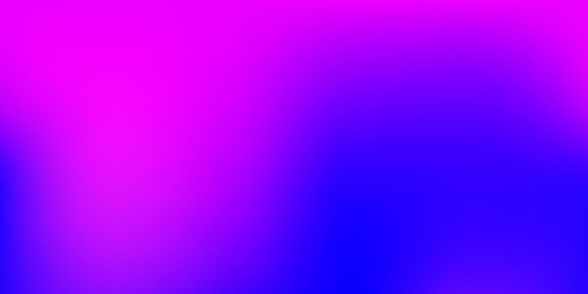 sfondo sfocato sfumato vettoriale rosa chiaro, blu.