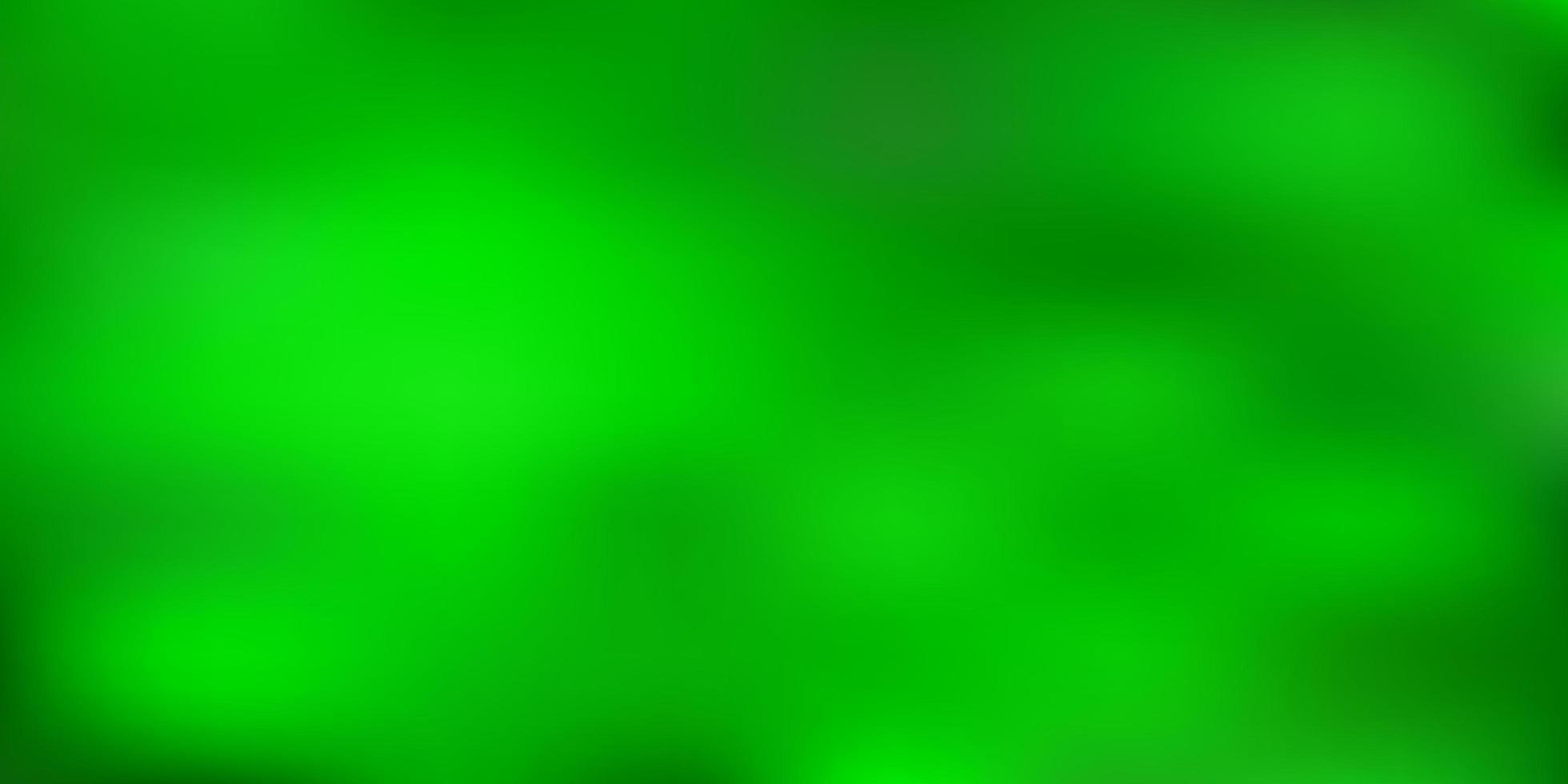 sfondo sfocato sfumato vettoriale verde chiaro.
