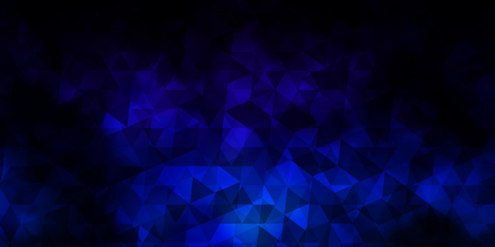 sfondo vettoriale multicolore scuro con stile poligonale.