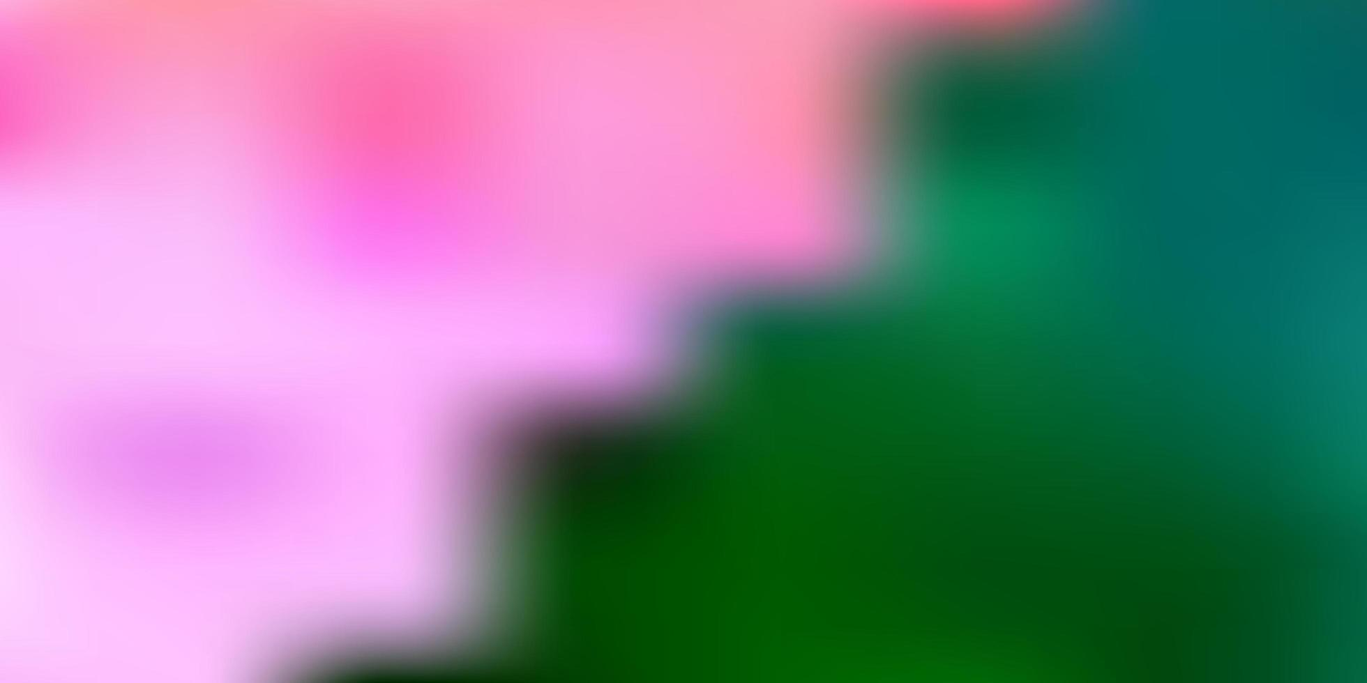 sfondo sfocato vettoriale verde chiaro.