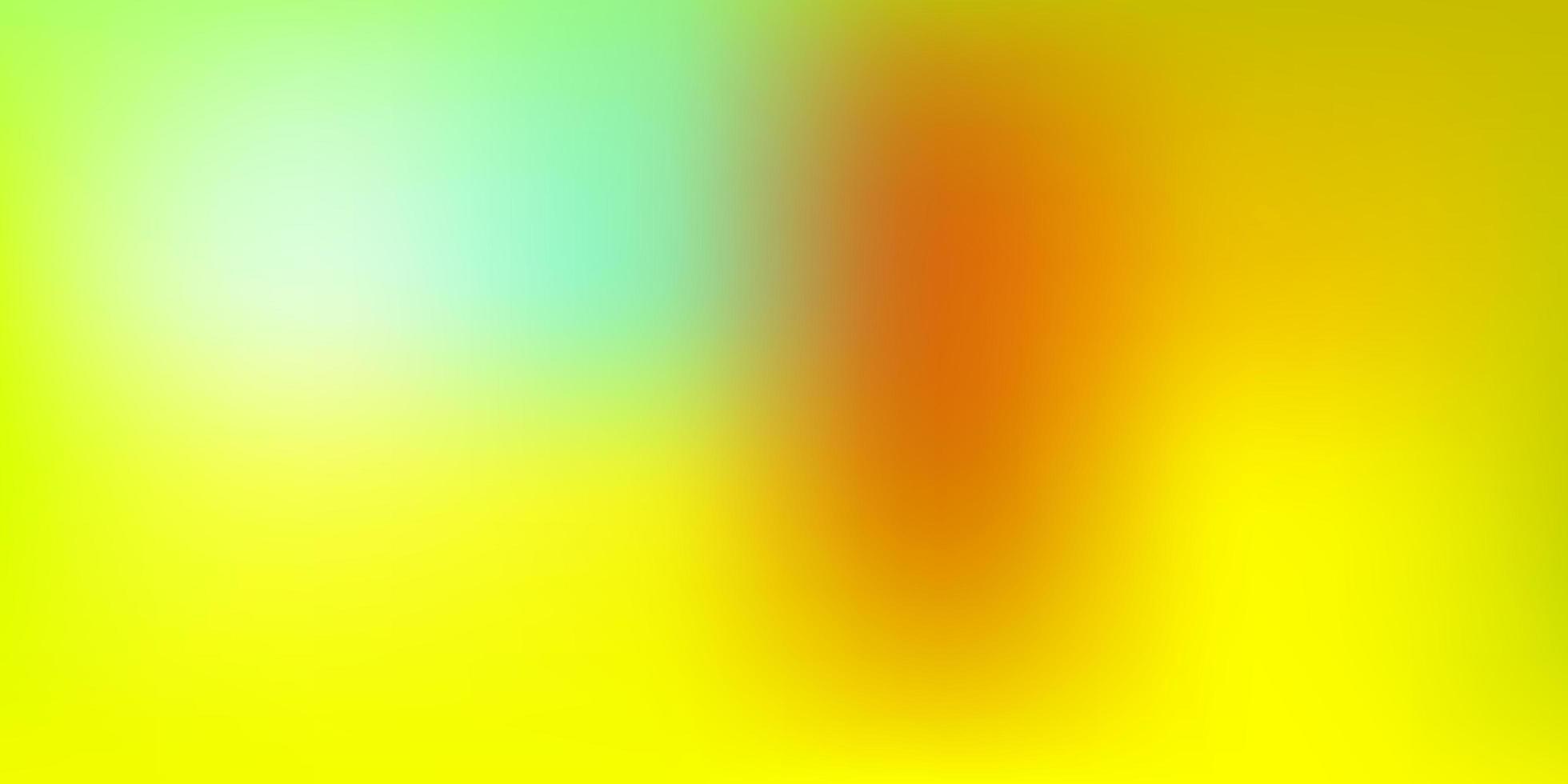 verde chiaro, giallo vettore astratto sfocatura texture.