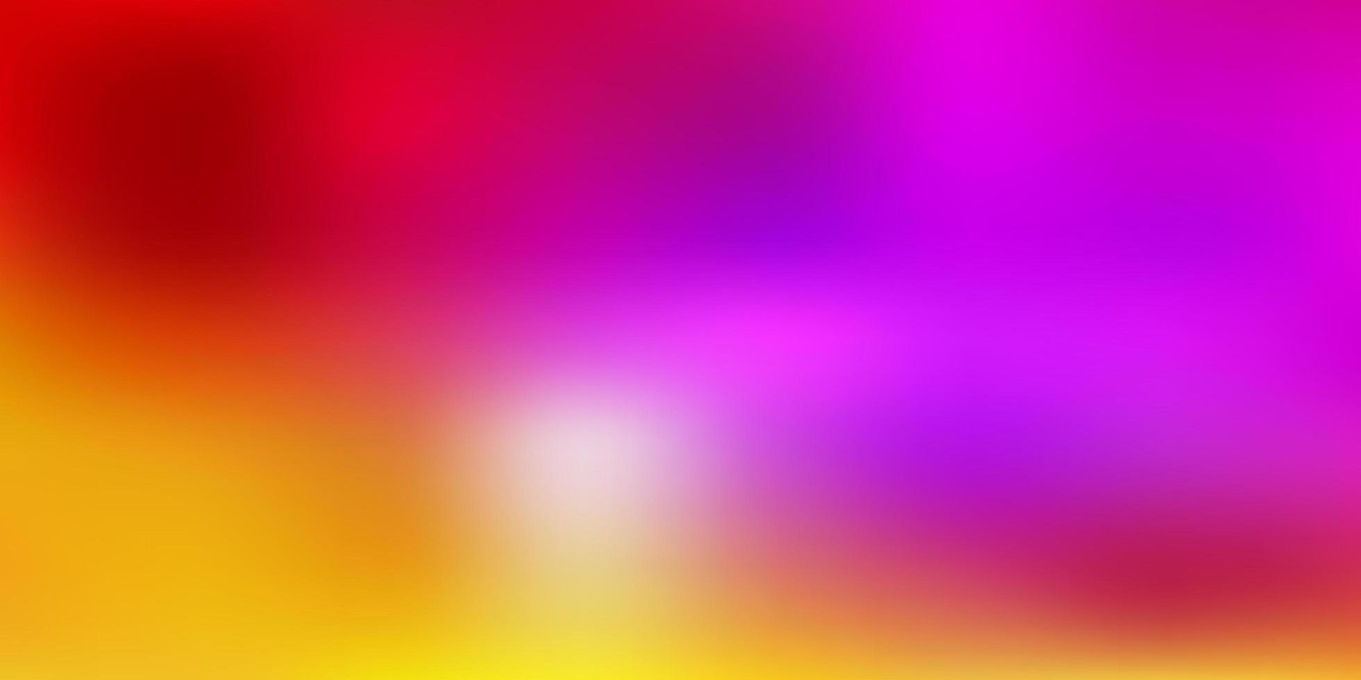 trama sfocata vettoriale multicolore chiaro.