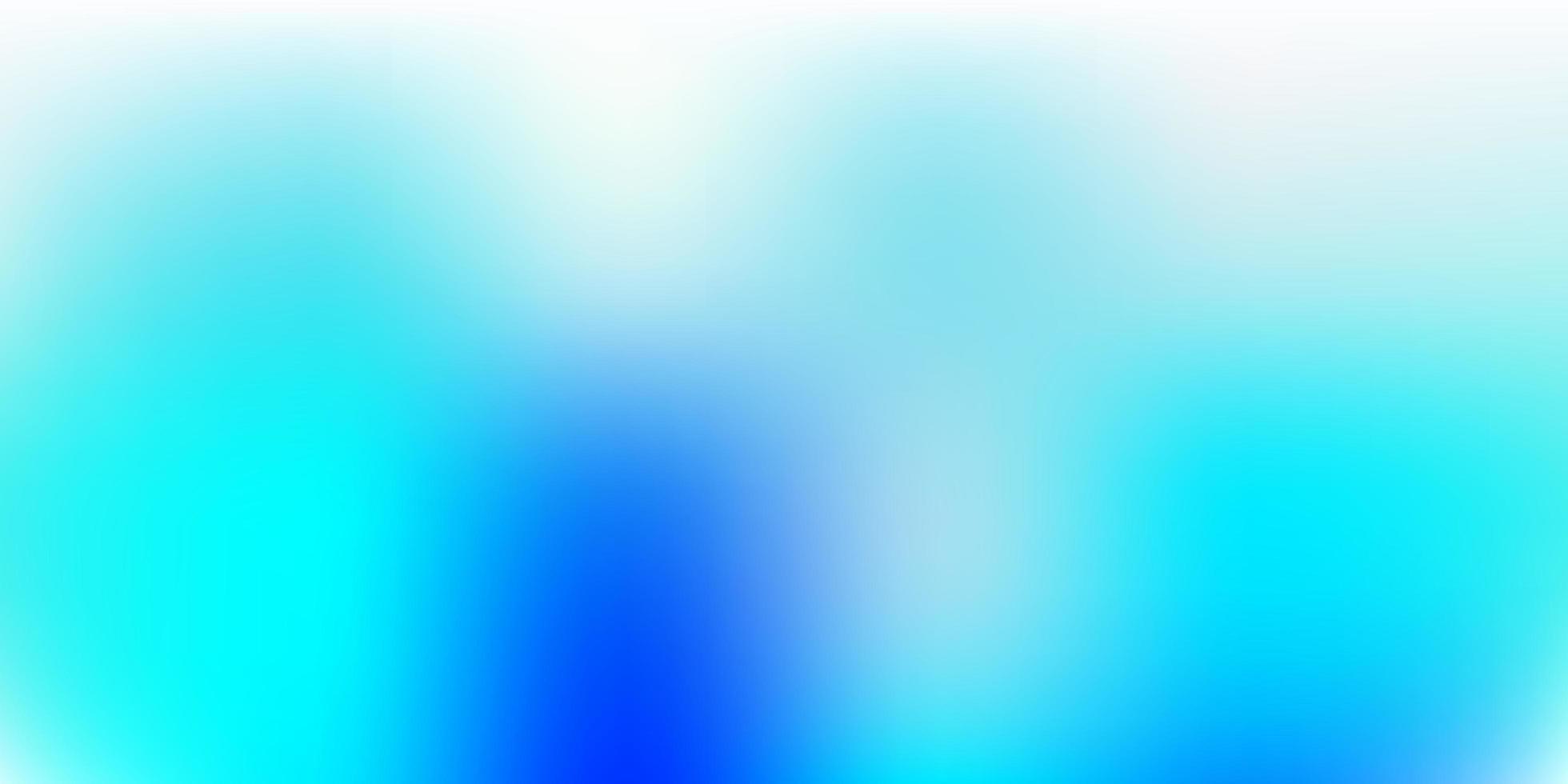 disegno di sfocatura vettoriale blu chiaro.