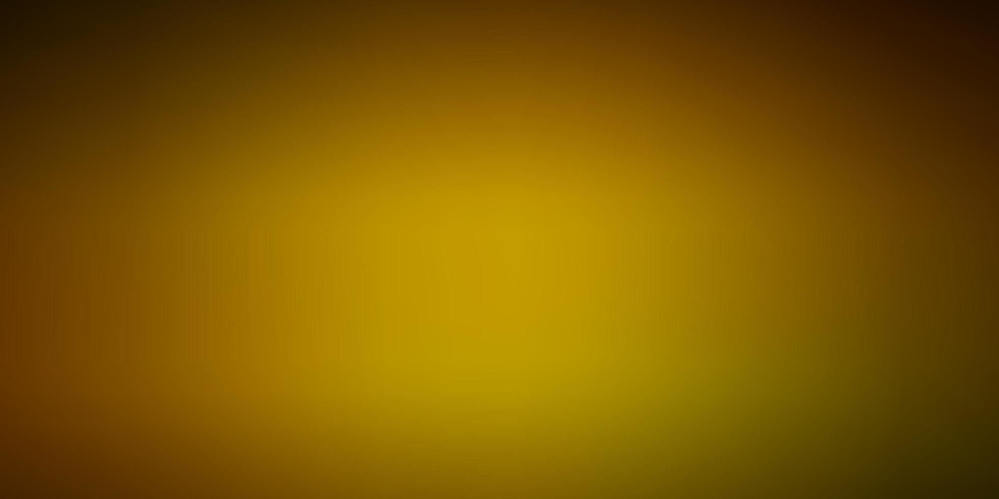 modello sfocato vettoriale verde scuro, giallo.