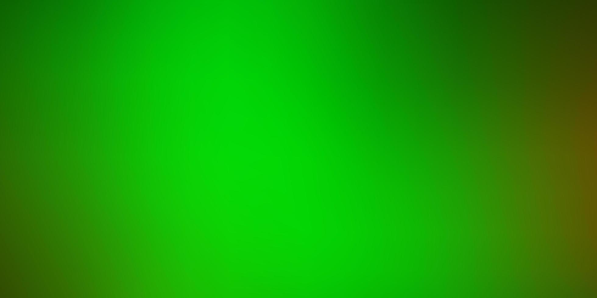 sfondo sfocato moderno di vettore verde chiaro, giallo.
