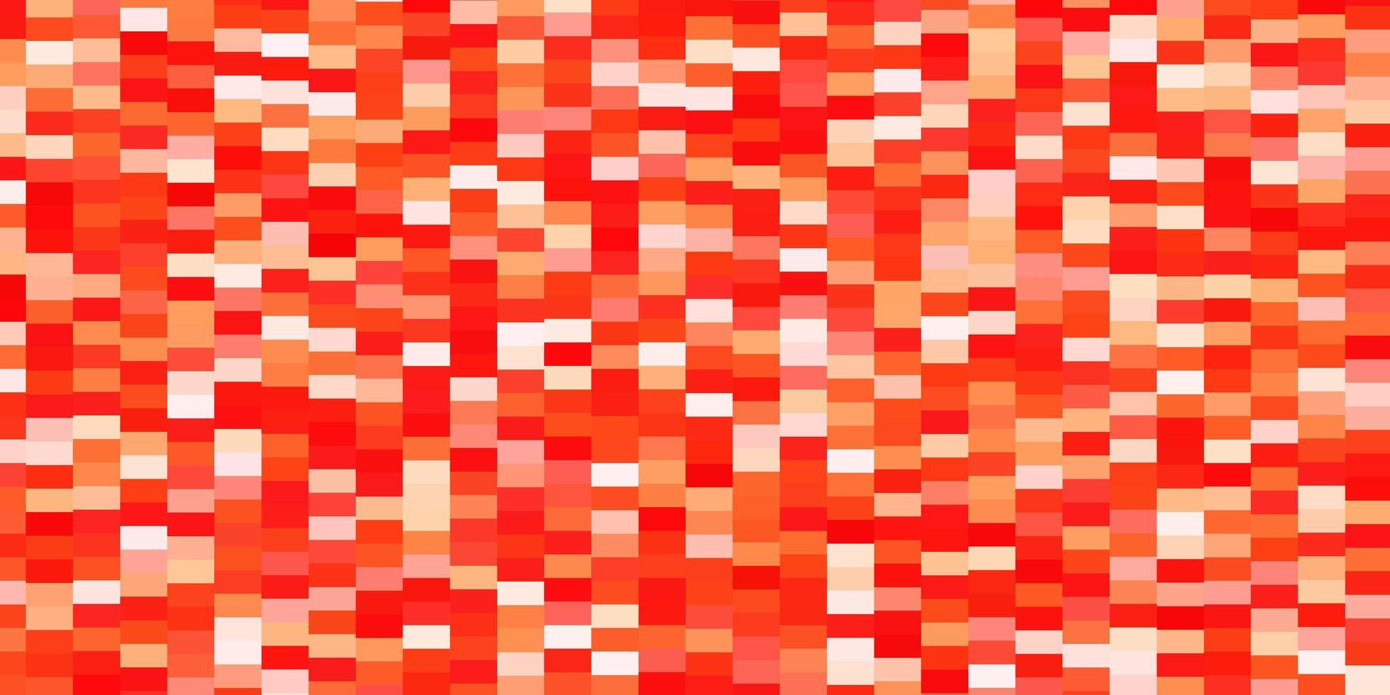 sfondo vettoriale rosso chiaro, giallo in stile poligonale.